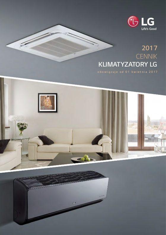 Cennik klimatyzatorów LG