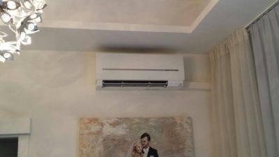 Klimatyzacja naścienna w domu Clima