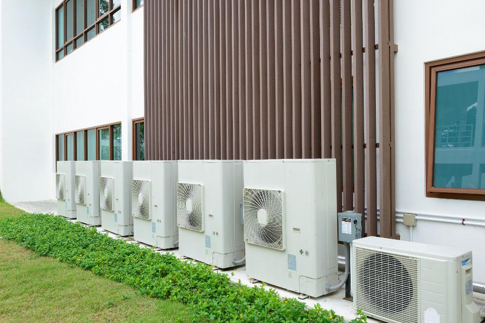 Klimatyzacja przemysłowa Mitsubishi Electric
