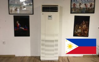 Nasz klimatyzator w ambasadzie Filipin