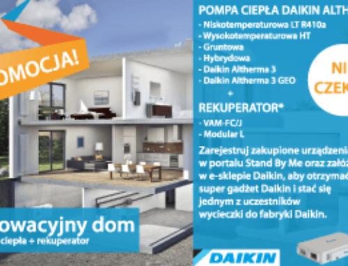 Pompa ciepła i rekuperator w promocji Daikin