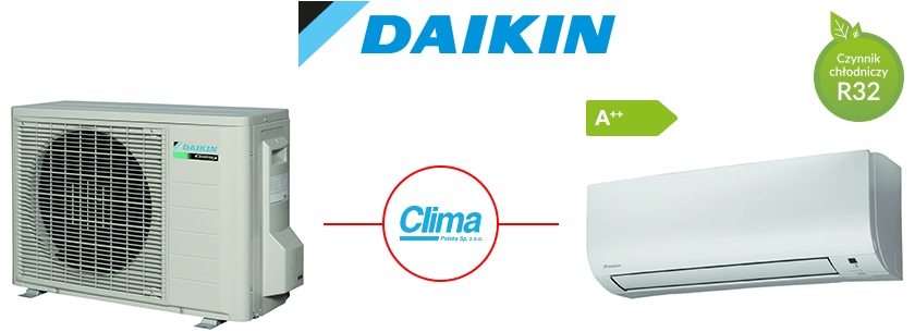 DAIKIN split FTXTP-K + RXTP-N