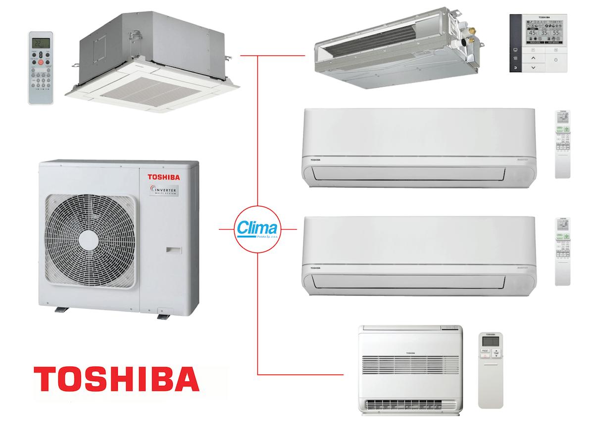 Toshiba Multi Split Clima Polska