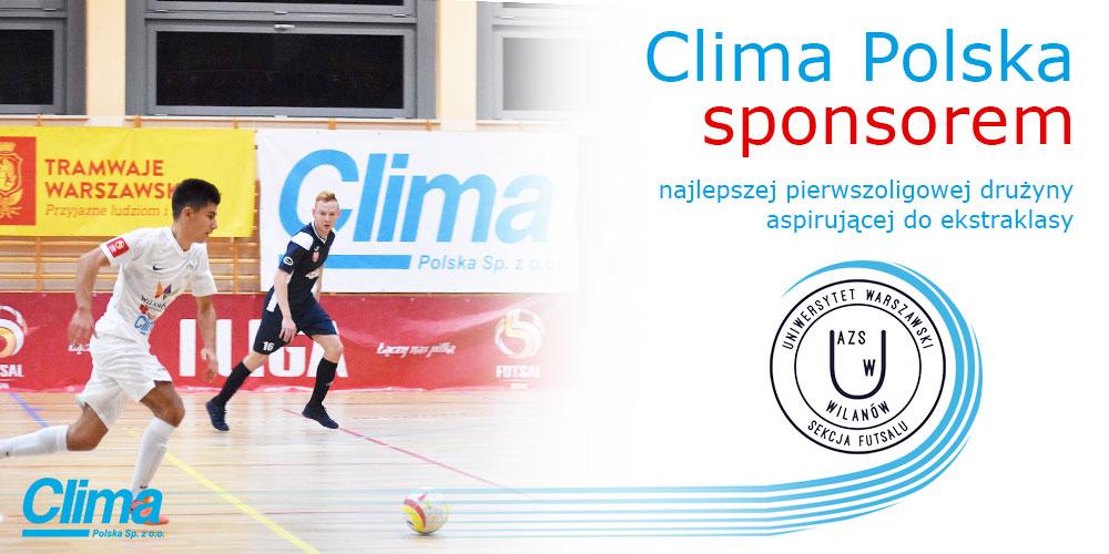 clima-polska-sponsorem-druzyny-futsal-azs-wilanow