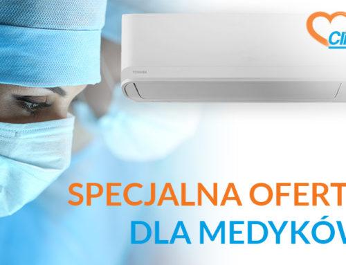 Specjalna oferta klimatyzacji dla medyków