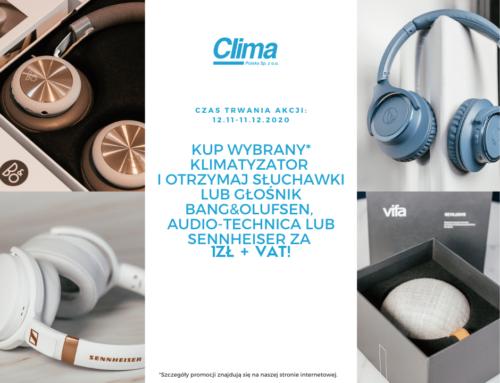 Rozdajemy prezenty na święta: słuchawki lub głośnik Bang&Olufsen za 1 zł do klimatyzacji!
