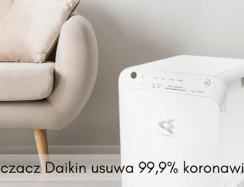Zatrzymaj koronawirusy z oczyszczaczem powietrza Daikin