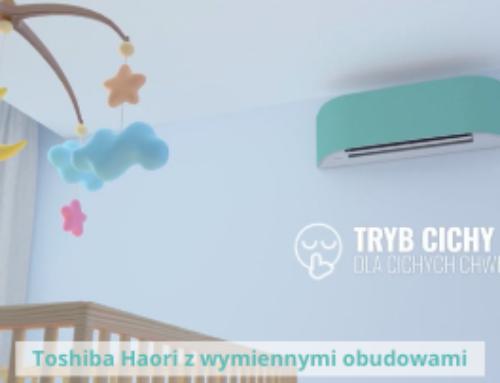 Nowość – klimatyzator Toshiba Haori ze zmienną obudową